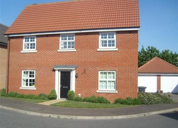 Thumbnail 4 bed detached house to rent in Osprey Drive, Stowmarket
