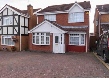 Thumbnail 4 bed detached house for sale in Cranesbill Road, Hamilton, Leicester