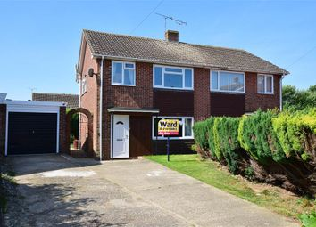Thumbnail 3 bed semi-detached house for sale in Hayward Close, Willesborough, Ashford, Kent