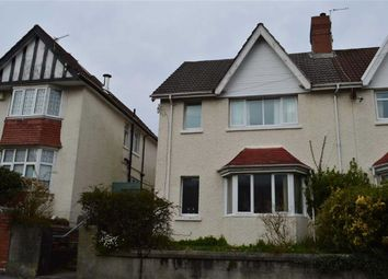 Thumbnail 3 bedroom semi-detached house for sale in Eversley Road, Swansea