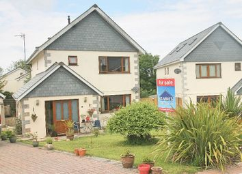 Thumbnail 4 bed detached house for sale in Newquay Road, St. Columb