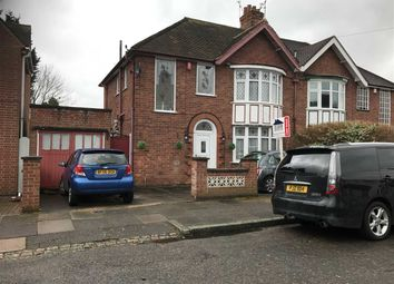 Thumbnail 3 bedroom semi-detached house for sale in Midway Road, Leicester