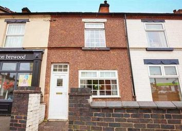 Thumbnail 2 bed terraced house for sale in Cannock Road, Cannock