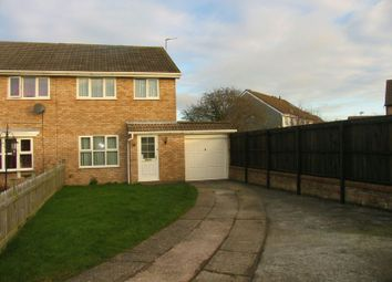 Thumbnail 3 bed semi-detached house to rent in The Lawns, Worle, Weston-Super-Mare