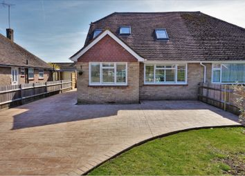 Thumbnail 4 bed semi-detached bungalow for sale in The Croft, East Preston