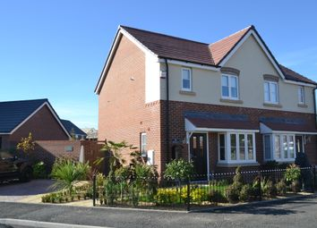 Thumbnail 2 bed semi-detached house for sale in Gateway Avenue, Baldwins Gate, Newcastle-Under-Lyme