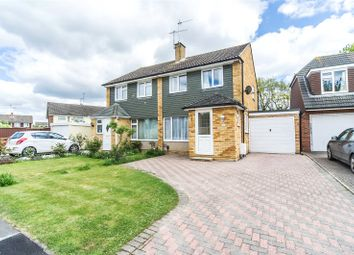 Thumbnail 3 bed semi-detached house for sale in Darwin Drive, Tonbridge, Kent