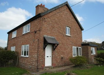 Thumbnail 3 bedroom semi-detached house to rent in Narrow Lane, Hinstock, Market Drayton