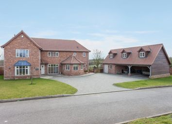 Thumbnail 4 bed detached house for sale in Sporle, King's Lynn