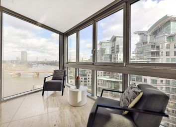 Thumbnail 2 bedroom flat for sale in The Tower, 1 St George Wharf, London