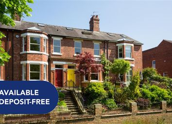 Thumbnail 4 bed terraced house to rent in Lastingham Terrace, York