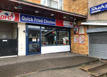 Thumbnail Commercial property to let in Quick Fried Chicken, 485 Beake Avenue, Coventry