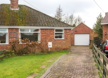 Thumbnail 2 bedroom semi-detached bungalow to rent in Windmill Way, Haxby, York, North Yorkshire
