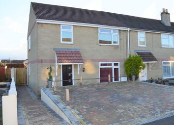 Thumbnail 4 bed end terrace house for sale in Frederick Avenue, Peasedown St. John, Bath