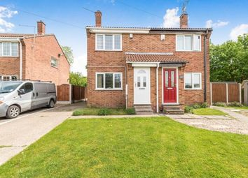 Thumbnail 2 bed semi-detached house for sale in Breckbank, Forest Town, Mansfield, Nottingham