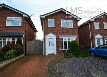 Thumbnail 3 bed detached house for sale in Allgreave Close, Middlewich
