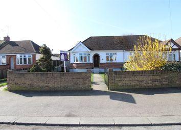 Thumbnail 2 bed semi-detached bungalow for sale in Begonia Avenue, Gillingham, Kent.