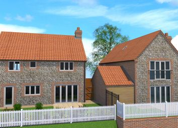 Thumbnail 3 bedroom detached house for sale in Ringstead Road, Sedgeford, Hunstanton