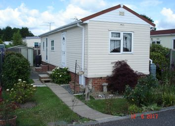 Thumbnail 1 bed mobile/park home for sale in Woodland View, Stratton Strawless, Norwich