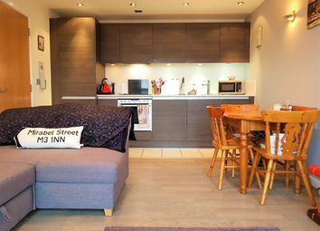Thumbnail 1 bed flat for sale in Tempus Tower, 9 Mirabel Street, Manchester
