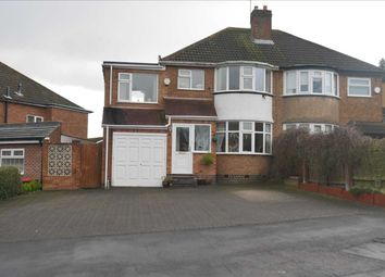 Thumbnail 4 bed semi-detached house for sale in High Brink Road, Coleshill, Birmingham