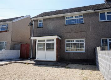 Thumbnail 3 bed semi-detached house for sale in Moorland Crescent, Pontypridd