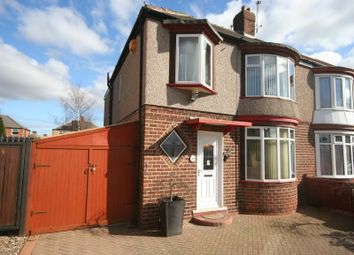 Thumbnail 3 bedroom semi-detached house for sale in Thorntree Road, Thornaby, Stockton-On-Tees