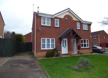 Thumbnail 2 bed semi-detached house for sale in Sedgefield Road, Branston, Burton-On-Trent, Staffordshire