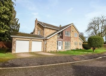 Thumbnail 5 bed detached house for sale in Mill Close, Hemingford Grey, Huntingdon