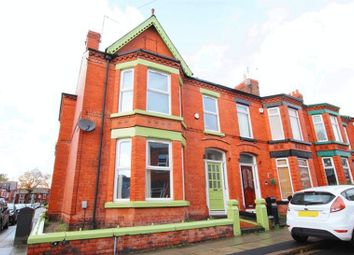 Thumbnail 4 bedroom terraced house for sale in Plattsville Road, Mossley Hill, Liverpool