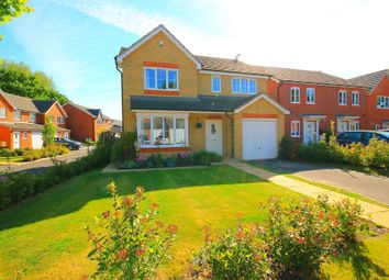 Thumbnail 4 bed detached house for sale in Hazelwood Drive, Mytchett, Camberley