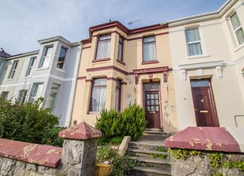 Thumbnail 3 bed terraced house for sale in Edith Avenue, Plymouth