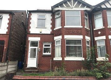 Thumbnail 4 bedroom semi-detached house for sale in Beresford Road, Longsight, Manchester