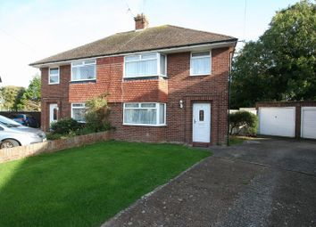 Thumbnail 3 bed semi-detached house for sale in Selkirk Close, Goring-By-Sea, Worthing