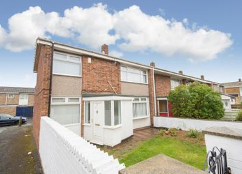 Thumbnail 3 bed end terrace house for sale in 6 Harvey Walk, Hartlepool, Cleveland