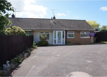 Thumbnail 3 bed semi-detached bungalow for sale in Post Mill Gardens, Grundisburgh