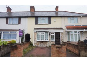 Thumbnail 2 bed terraced house for sale in Yardley Green Road, Birmingham