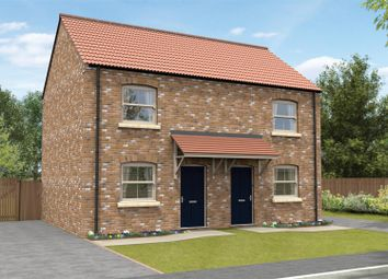 Thumbnail 2 bedroom terraced house for sale in Fleetwood Road, Waddington, Lincoln