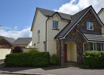 Thumbnail 4 bed detached house for sale in Snowdrop Crescent, Launceston