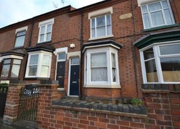 Thumbnail 3 bed terraced house to rent in Welford Road, Clarendon Park, Leicester