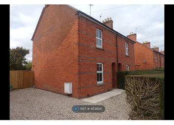 Thumbnail 2 bed semi-detached house to rent in Battle Road, Newbury