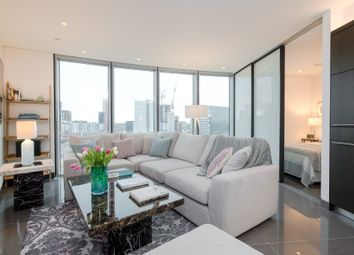 Thumbnail 1 bed flat to rent in The Tower, St. George Wharf, London SW8, London,