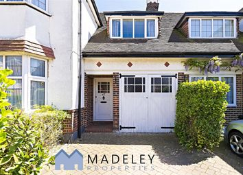 Thumbnail 3 bed semi-detached house to rent in Templars Crescent N3, Finchley Central