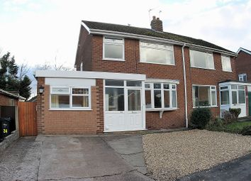 Thumbnail 3 bed property for sale in Elmwood Road, Barnton, Northwich, Cheshire.