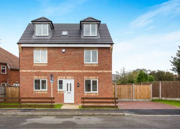 Thumbnail 4 bed detached house for sale in Wright Avenue, Ripley