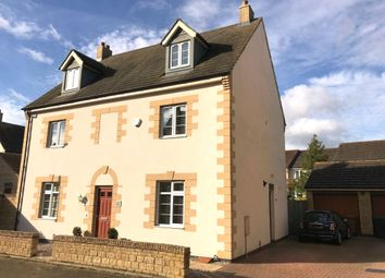 Thumbnail 5 bed detached house for sale in Normangate, Ailsworth, Peterborough