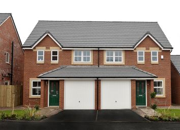"Thumbnail 3 bed semi-detached house for sale in ""The Rufford"" at Cumwhinton Road, Carleton, Carlisle"