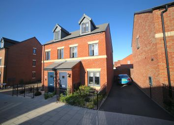 Thumbnail 3 bed semi-detached house for sale in Bryce Way, Lawley, Telford