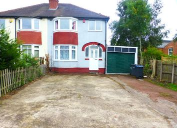 Thumbnail 3 bed semi-detached house to rent in Tennal Grove, Harborne, Birmingham, West Midlands