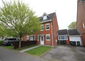 Thumbnail 3 bed semi-detached house for sale in Primrose Drive, Bedworth